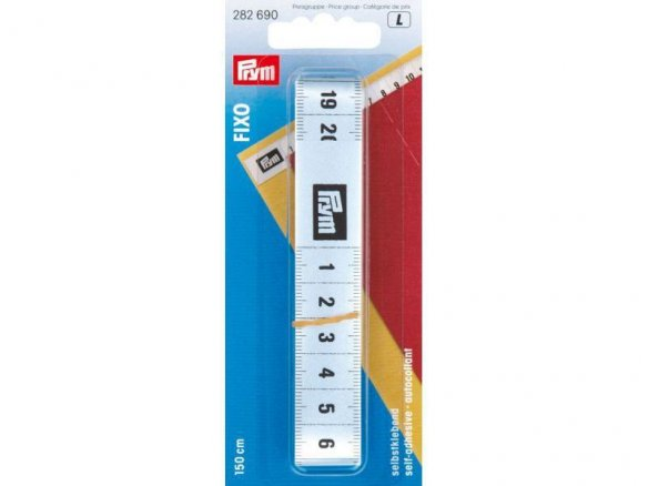 Prym Fixo tape measure, self-adhesive