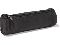 Pencil case, round, nylon