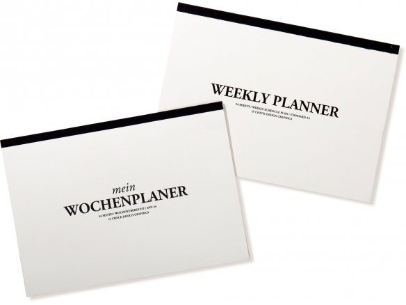 O-Check Design Mein weekly planner