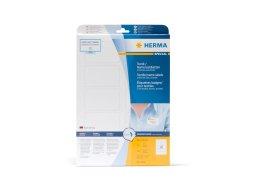 Herma fabric/name labels, acetate silk