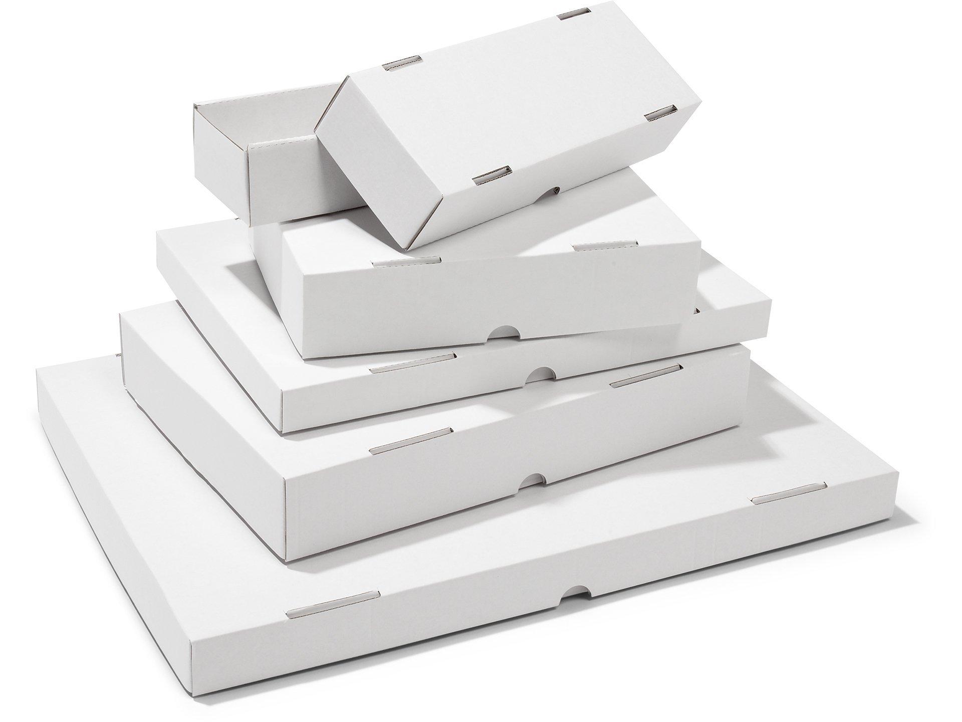 st lpdeckelkarton aus wellpappe wei kaufen modulor. Black Bedroom Furniture Sets. Home Design Ideas