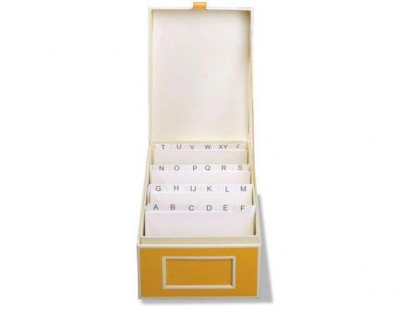 Buy Semikolon Business Card Box With Index Cardboard Online