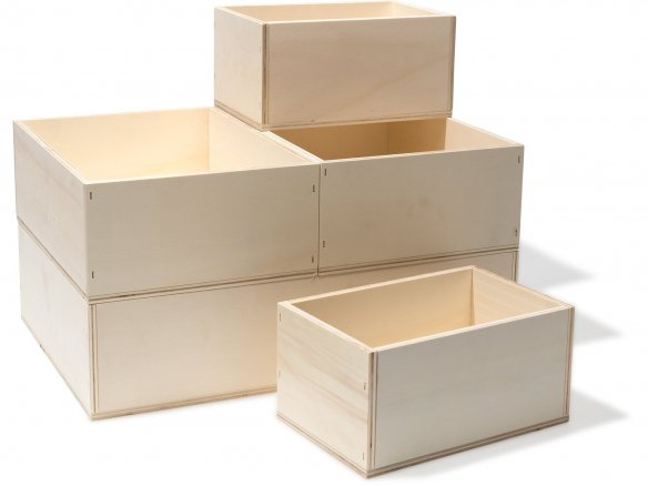 Modulor box, poplar plywood