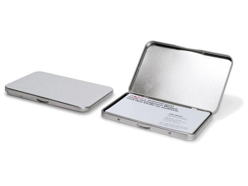 Buy Visitenkartenetui Weißblech Silber Online At Modulor