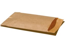 Flat bag natron paper, brown