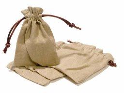 Small linen sack