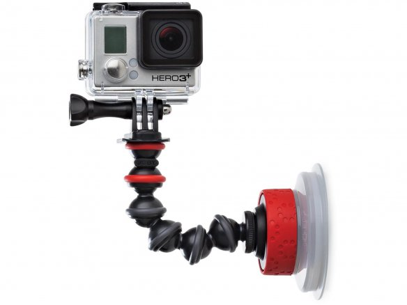 Joby Suction Cup & GorillaPod Arm, GoPro tripod