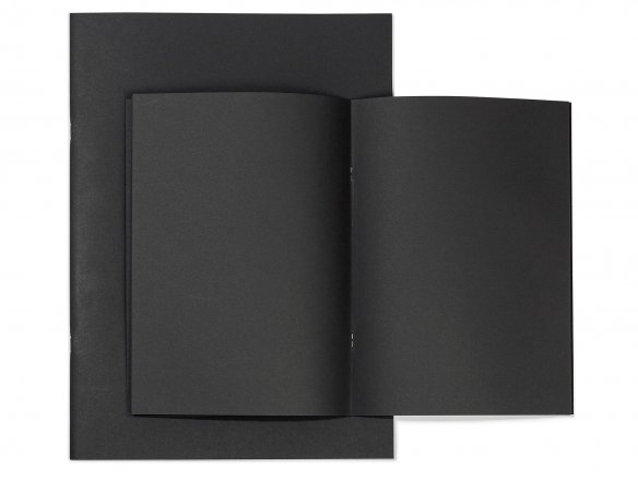 Seawhite sketchbook, black 140 g/m²