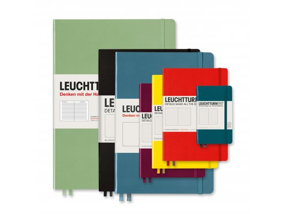 Leuchtturm notebook, hard cover