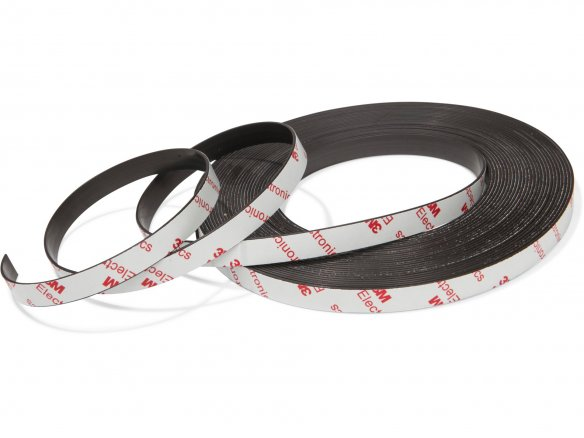 Self Adhesive Magnetic Tape Sticky Backed Magnet Strip Pick Quantity