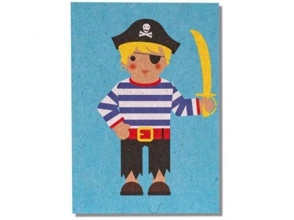 Postkarte The Good Life