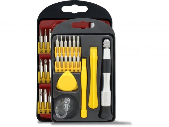 Precision screwdriver set (smartphone, etc.)