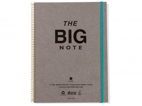 Jstory The Big Note, notepad with rubber fastener