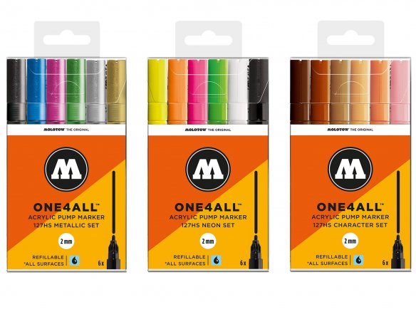 Molotow ONE4ALL 227HS-S Tryout Kit Basic 1