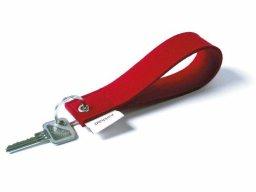 Felt key-chain pendant, strap