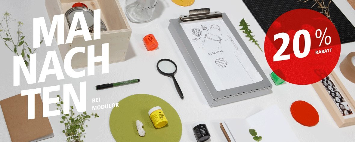 Modulor | Online Shop for architects, designers, makers and crafts